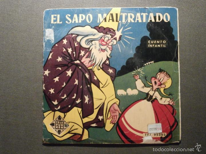 CUENTO INFANTIL - EL SAPO MALTRATADO - TELEFUNKEN - CARMEN GARCÍA BELLVER - TFJ 95303 (Música - Discos de Vinilo - EPs - Otros estilos)