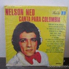Discos de vinilo: NELSON NED CANTA PARA COLOMBIA LP VINILO VINYL MUSICA D1 VG. Lote 58303568