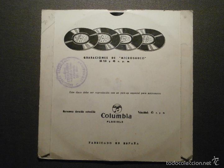 Discos de vinilo: CUENTOS INFANTILES - CARASUCIA + LUCERITO - COLUMBIA EDGE 70154 - 1954 - Foto 2 - 58303636