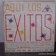 Discos de vinilo: AQUI LOS EXITOS LOS TROTAMUNDO COLOMBIA LP VINILO D1 VG. Lote 58303639