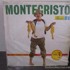 Discos de vinilo: MONTECRISTO MONTECRISTADAS VOL.3 HUMOR COLOMBIA LP VINILO D1 VG+. Lote 58303659