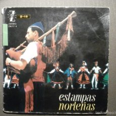 Discos de vinilo: DISCO - VINILO - EP - ESTAMPAS NORTEÑAS - ZAFIRO - 1962 -. Lote 58303935