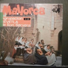 Discos de vinilo: DISCO - VINILO - EP - MALLORCA - AGRUPACIÓN REVETLA DE SON SERVERA - YUPY 1967 - FOLKLORE MALLORQUIN. Lote 58303944