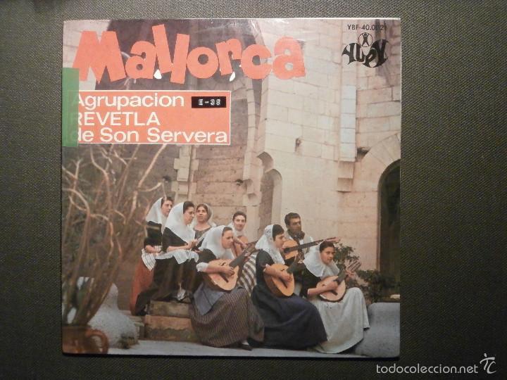 Discos de vinilo: DISCO - VINILO - EP - MALLORCA - AGRUPACIÓN REVETLA DE SON SERVERA - Yupy 1967 - Folklore Mallorquin - Foto 2 - 58303944