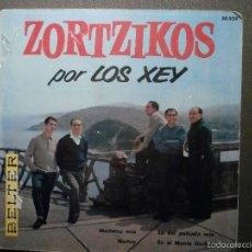 Discos de vinilo: DISCO - VINILO - EP - ZORTZIKOS POR LOS XEY - BELTER - 1961-. Lote 58303998