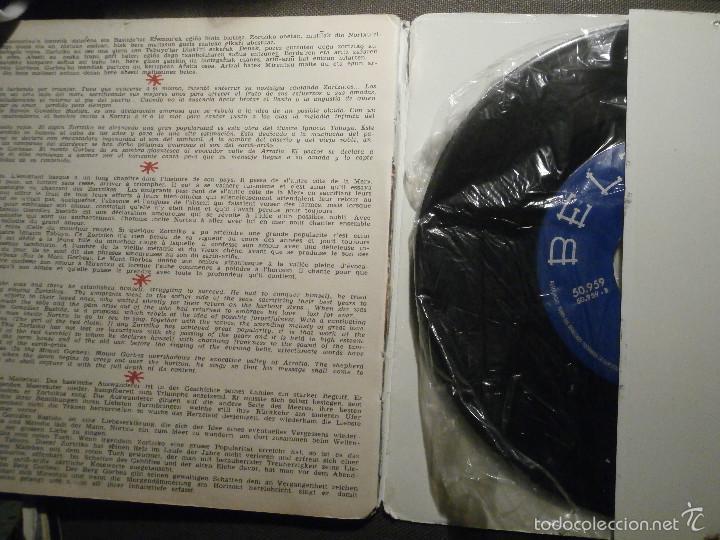 Discos de vinilo: DISCO - VINILO - EP - ZORTZIKOS POR LOS XEY - BELTER - 1961- - Foto 3 - 58303998