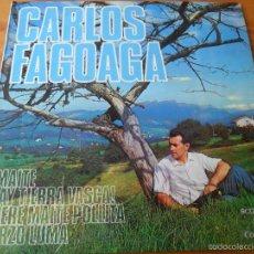 Dischi in vinile: CARLOS FAGOAGA - MAITE/ AY TIERRA VASCA/ URZO LUMA +1 - EP 1964. Lote 58322191