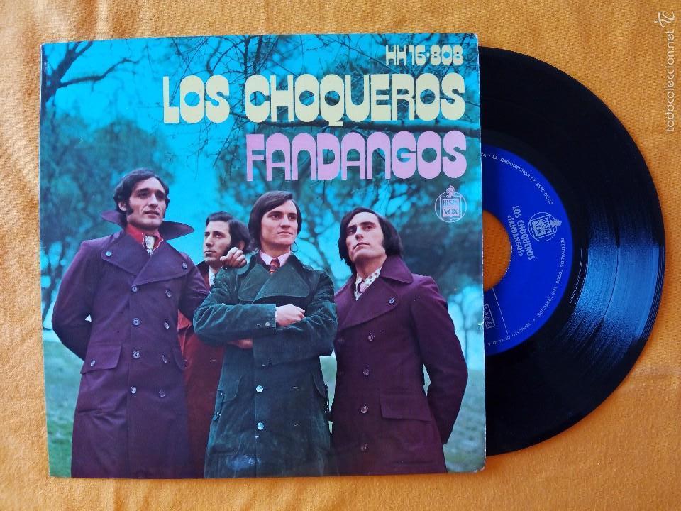 CHOQUEROS, LOS - DESDE LEPE A PUNTA UMBRIA +3 (HISPAVOX) SINGLE EP - FANDANGOS - FELIX DE UTRERA (Música - Discos de Vinilo - EPs - Flamenco, Canción española y Cuplé)