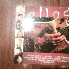Discos de vinilo: ELLOS- MICHAEL JACKSON,DAVID BOWIE,MARVIN GAYE,J.J. CALE..DOBLE LP. Lote 58330671