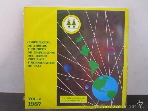 AIRES LATINOAMERICANOS VARIOS LP MUSICA VINILO VOL.3 1987 (Música - Discos - LP Vinilo - Otros estilos)