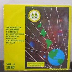 Discos de vinilo: AIRES LATINOAMERICANOS VARIOS LP MUSICA VINILO VOL.3 1987. Lote 58330780