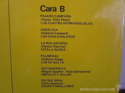Discos de vinilo: aires latinoamericanos varios lp musica vinilo vol.3 1987 - Foto 3 - 58330780