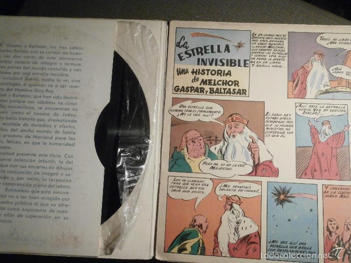 Discos de vinilo: DISCO MAGAZINE - VINILO - EP - LA ESTRELLA INVISIBLE - UNA HISTORIA DE MELCHOR, GASPAR Y BALTASAR - Foto 2 - 58331041