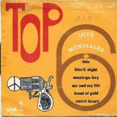 Discos de vinilo: TOP VOL 2 (6 TEMAS) EP 1971. Lote 58337262