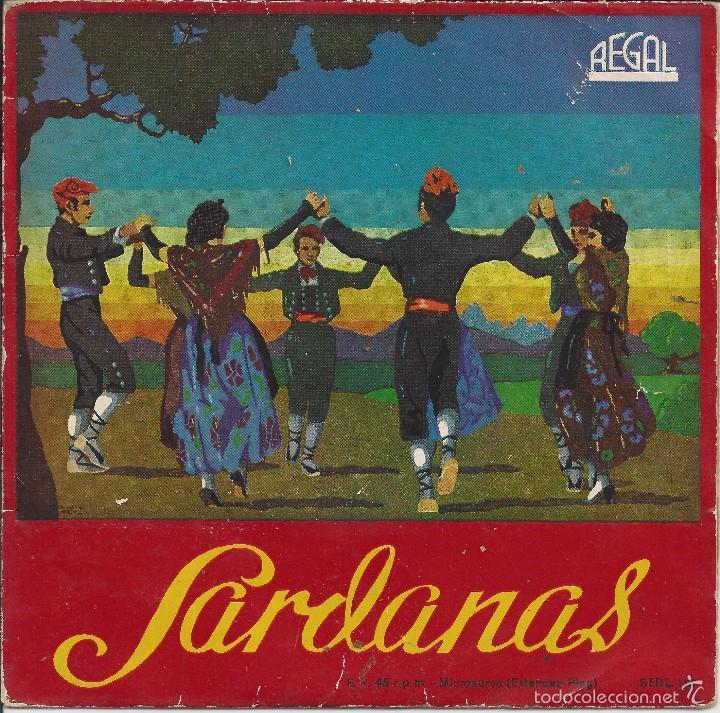 SARDANAS (Música - Discos - Singles Vinilo - Clásica, Ópera, Zarzuela y Marchas)