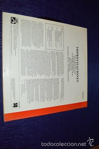 Discos de vinilo: IMPROVISATIONS (Yehudi Menuhin - Ravi Shankar - Jean-Piere Rampal) - Foto 2 - 58340452