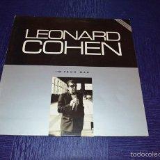 Discos de vinilo: I'M YOUR MAN - LEONARD COHEN. Lote 58340533