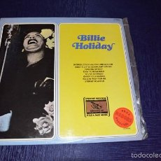 Discos de vinilo: FIGURAS LEGENDARIAS DEL JAZZ - BILLIE HOLIDAY. Lote 58340616