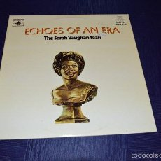 Discos de vinilo: ECHOES OF AN ERA - THE SARAH VAUGHAN YEARS. Lote 58340639