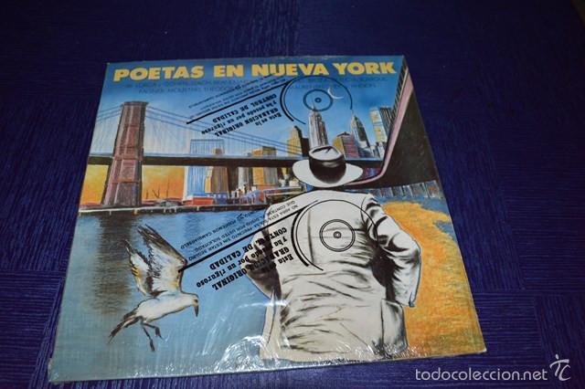 POETAS EN NUEVA YORK - FEDERICO GARCIA LORCA (Música - Discos - Singles Vinilo - Cantautores Españoles)