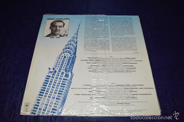 Discos de vinilo: POETAS EN NUEVA YORK - Federico Garcia Lorca - Foto 2 - 58340664