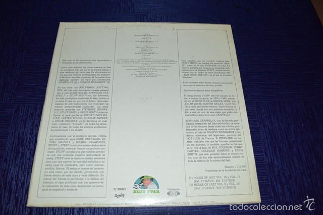 Discos de vinilo: STUFF AND STEFF - STUFF SMITH & STEPHANE GRAPELLI - Foto 2 - 58340773