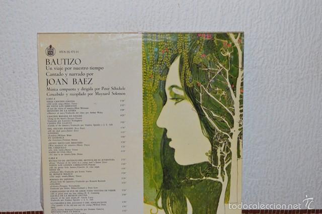Discos de vinilo: BAUTIZO - JOAN BAEZ - Foto 2 - 58340850