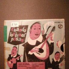 Discos de vinilo: DISCO - VINILO - EP - CUANDO LOS TUNOS PASAN - PHILIPS -. Lote 58342053