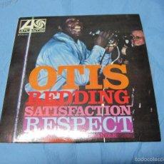 Discos de vinilo: ANTIGUO EP SINGLE DE OTIS REDDING SATISFACTION. Lote 58342526