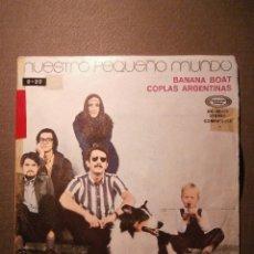 Discos de vinilo: DISCO - VINILO - EP - NUESTRO PEQUEÑO MUNDO .- COPLAS ARGENTINAS - MOVIE PLAY. Lote 58349418