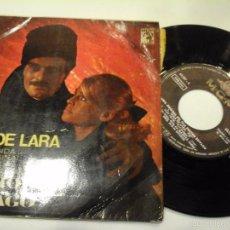 Discos de vinilo: MUSICA SINGLE TEMA DE LARA BSO DOCTOR ZHIVAGO 4 TEMAS . Lote 58353913