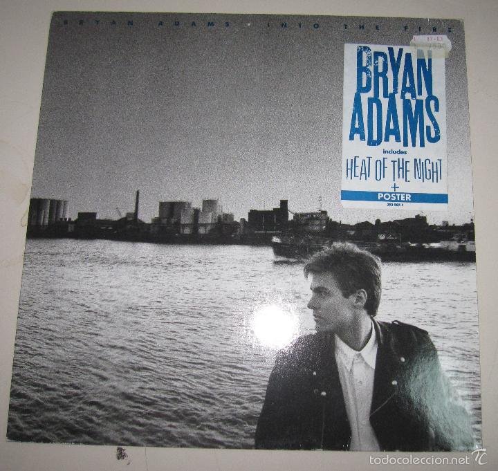 DISCO. BRYAN ADAMS. INTO THE FIRZ. 1987. BUEN ESTADO. A&M RECORDS, LOS ANGELES (Música - Discos - LP Vinilo - Pop - Rock Extranjero de los 90 a la actualidad)