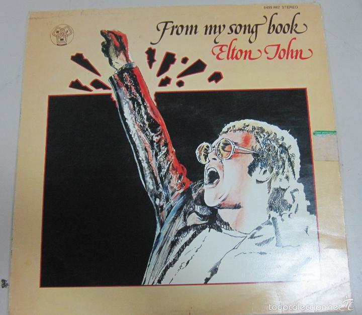 DISCO. ELTON JHON. FROM MY SONG BOOK. BUEN ESTADO. D.J.M STEREO, NORUEGA (Música - Discos - LP Vinilo - Pop - Rock Extranjero de los 90 a la actualidad)