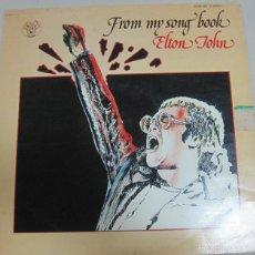 Discos de vinilo: DISCO. ELTON JHON. FROM MY SONG BOOK. BUEN ESTADO. D.J.M STEREO, NORUEGA. Lote 58356245