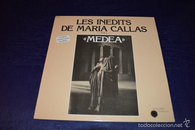 MARIA CALLAS - LES INEDITS DE MARIA CALLAS - MEDEA (Música - Discos - Singles Vinilo - Clásica, Ópera, Zarzuela y Marchas)