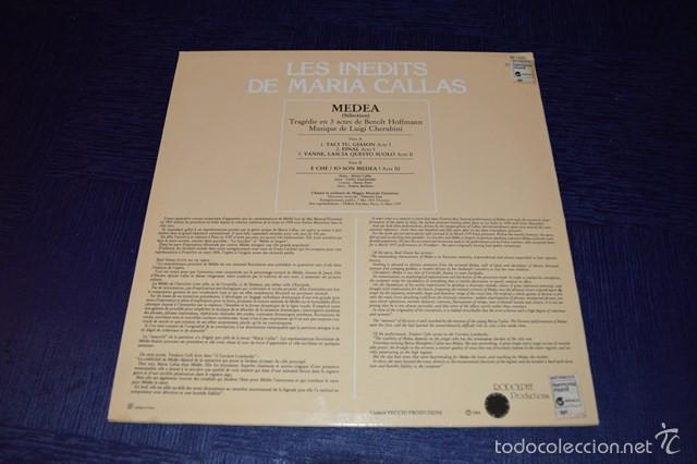 Discos de vinilo: MARIA CALLAS - LES INEDITS DE MARIA CALLAS - MEDEA - Foto 2 - 58357438