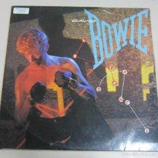 Discos de vinilo: DISCO. DAVID BOWIE. LETS DANCE. BUEN ESTADO. EMI AMERICA. Lote 58357445