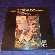 Discos de vinilo: CARLO GESUALDO DI VENOSA - DELLER CONSORT. Lote 58357482