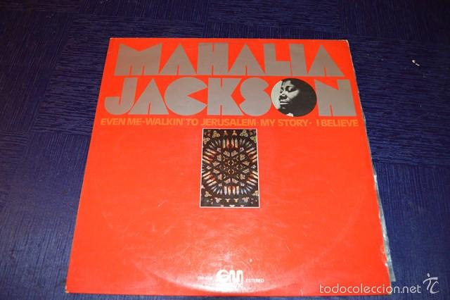 MAHALIA JACKSON (Música - Discos - Singles Vinilo - Jazz, Jazz-Rock, Blues y R&B)