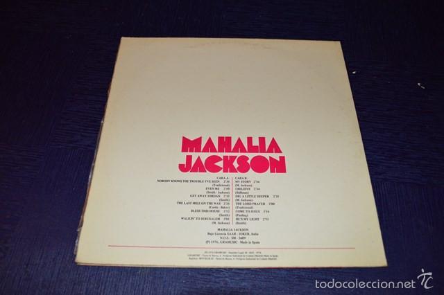 Discos de vinilo: MAHALIA JACKSON - Foto 2 - 58357767