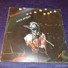 Discos de vinilo: LUIS EDUARDO AUTE -ENTRE AMIGOS. Lote 58357891