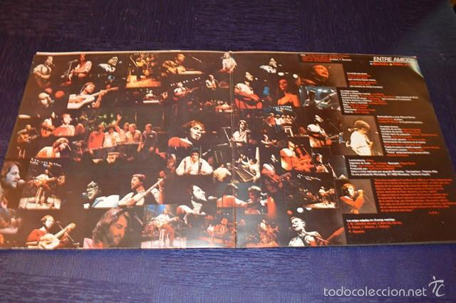 Discos de vinilo: LUIS EDUARDO AUTE -ENTRE AMIGOS - Foto 2 - 58357891