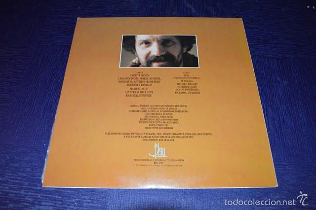 Discos de vinilo: TOMEU PENYA - CARRITX I ROSES - Foto 2 - 58357910