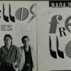 Discos de vinilo: LOTE DE DOS SINGLES DE LOS FRENILLOS. Lote 58361293