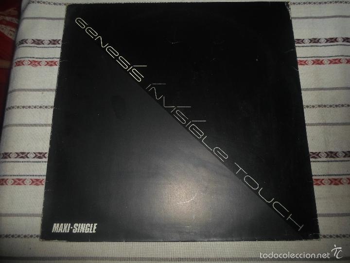 GENESIS - INVISIBLE TOUCH (Música - Discos de Vinilo - Maxi Singles - Pop - Rock Internacional de los 70)