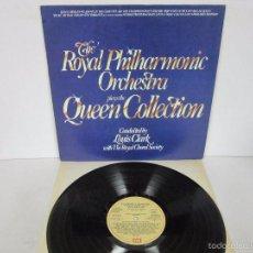 Discos de vinilo: THE ROYAL PHILHARMONIC ORCHESTRA - PLAYS THE QUEEN COLLECTION - PROMO SUPER RARE VINILO MINT. Lote 58367002