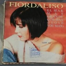 Discos de vinilo: LOTE 3 SINGLES FIORDALISO. Lote 58368330
