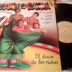 Discos de vinilo: DISCO LP MANOLO Y SU BANDA. Lote 58369974
