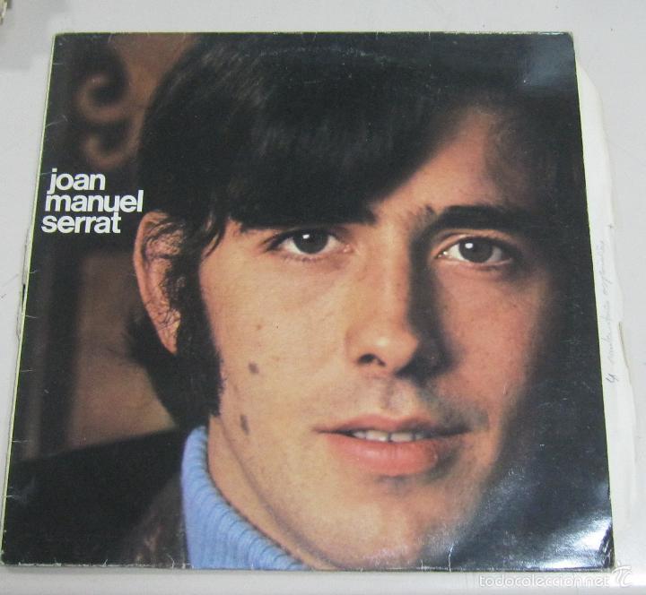 LP. JOAN MANUEL SERRAT. VARIOS. ARIOLA EURODISC, BARCELONA. (Música - Discos - LP Vinilo - Solistas Españoles de los 70 a la actualidad)