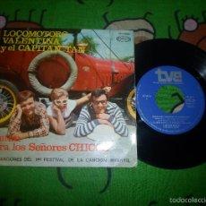 Discos de vinilo: CHIRIPITIFLAUTICOS LOCOMOTORO VALENTINA CAPITAN TAN. Lote 217336743